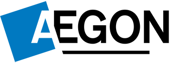 aegon blue and black logo